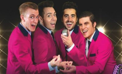Frankie's Guys at the New Theatre Royal Portsmouth