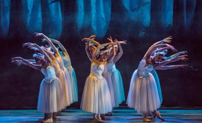 Swan Lake at the New Theatre Royal Portsmouth