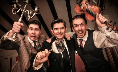 The Hound Of The Baskervilles at the New Theatre Royal Portsmouth