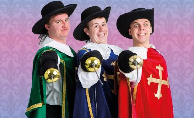 The Three Musketeers at the New Theatre Royal Portsmouth