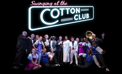 Swinging at the Cotton Club at the New Theatre Royal Portsmouth