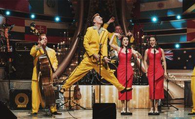 The Jive Aces at the New Theatre Royal Portsmouth