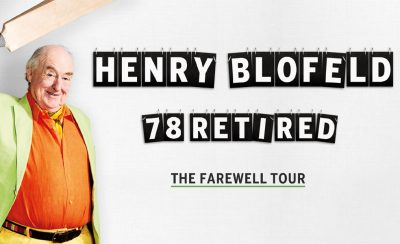 Henry Blofeld: 78 Retired at the New Theatre Royal Portsmouth
