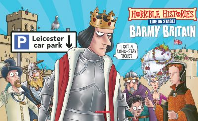 Horrible Histories: A Brand New Barmy Britain at the New Theatre Royal Portsmouth