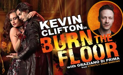 Kevin Clifton in Burn the Floor at the New Theatre Royal Portsmouth