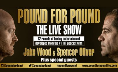 Pound for Pound – Jake Wood & Spencer Oliver at the New Theatre Royal Portsmouth