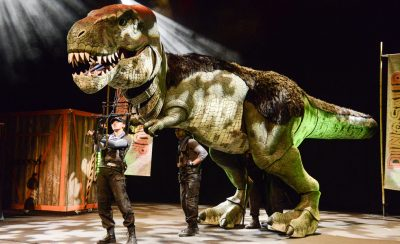 Dinosaur World Live at the New Theatre Royal Portsmouth