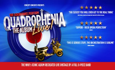 QUADROPHENIA the ALBUM – LIVE at the New Theatre Royal Portsmouth