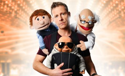 Paul Zerdin's Puppet Party at the New Theatre Royal Portsmouth