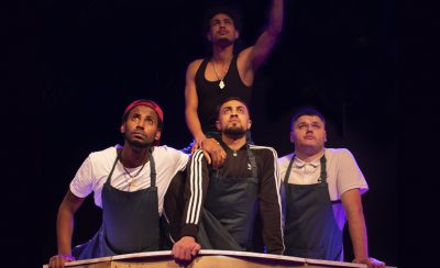 Pizza Shop Heroes at the New Theatre Royal Portsmouth