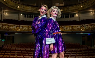 <b>Knees Up!</b> February 2020 at the New Theatre Royal Portsmouth