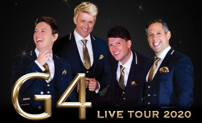 G4 LIVE 2020 at the New Theatre Royal Portsmouth