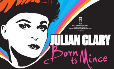 Julian Clary <b>Born to Mince</b> at the New Theatre Royal Portsmouth