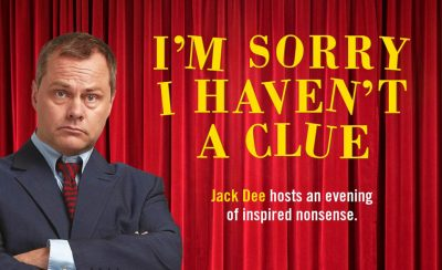 I'm Sorry I Haven't a Clue at the New Theatre Royal Portsmouth