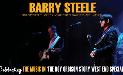 Barry Steele in The Roy Orbison Story at the New Theatre Royal Portsmouth