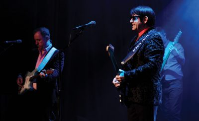 Barry Steele in <b>The Roy Orbison Story</b> at the New Theatre Royal Portsmouth