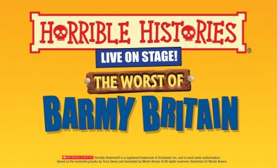 Horrible Histories: The Worst Of Barmy Britain at the New Theatre Royal Portsmouth