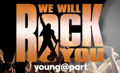 <b>We Will Rock You! Young@Part®</b> at the New Theatre Royal Portsmouth