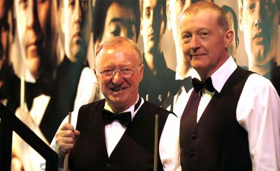 <b>An Evening with Snooker Greats</b> starring Steve Davis & Dennis Taylor at the New Theatre Royal Portsmouth